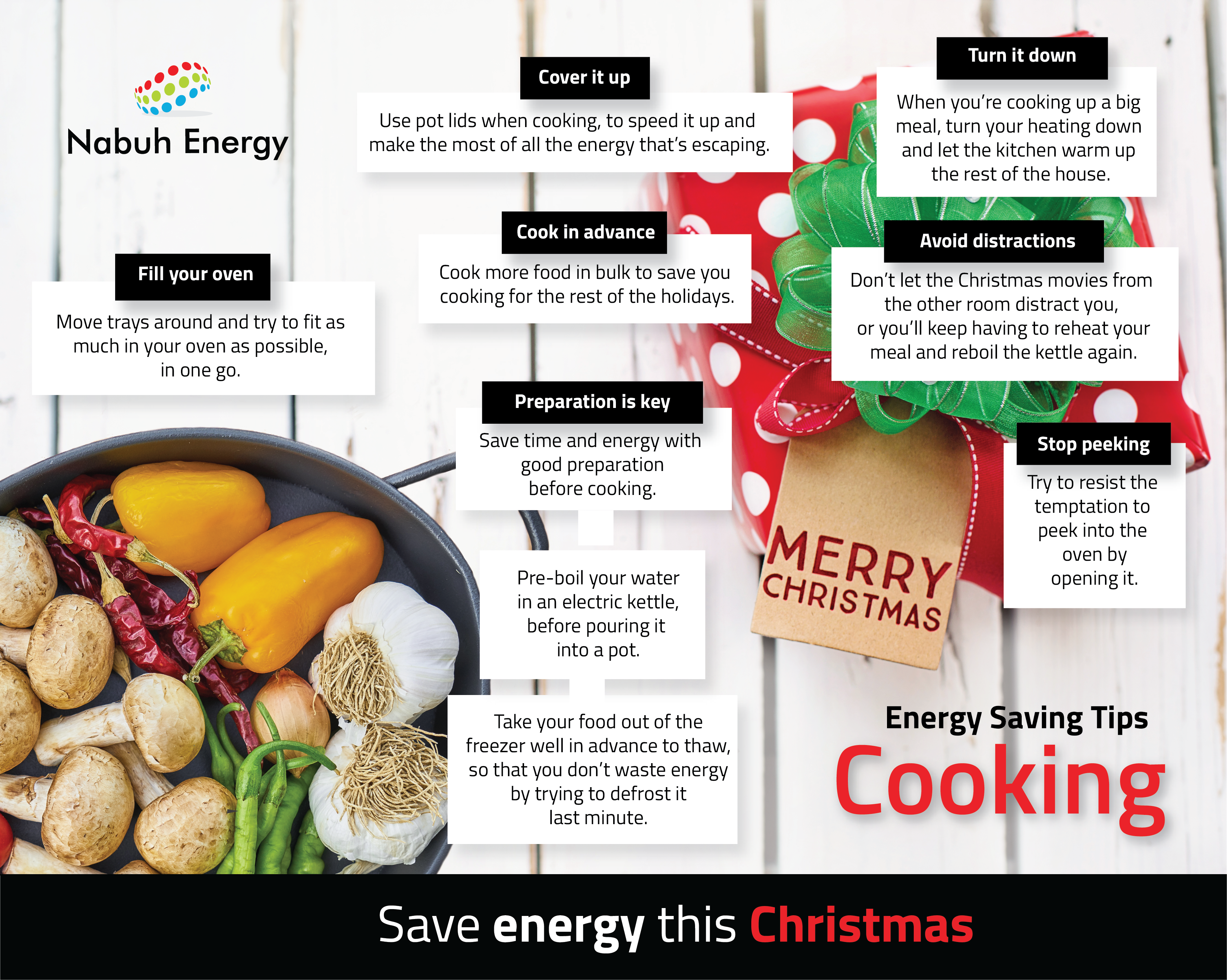 Energy Saving Tips For Cooking