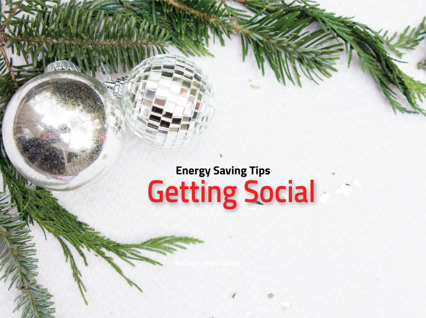 Energy Saving Tips For Getting Social