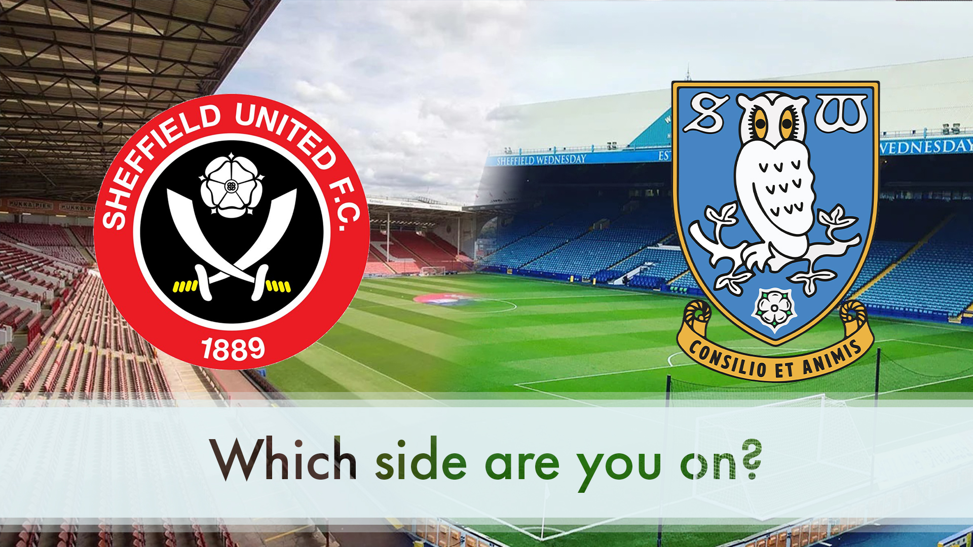 Wednesday United which side are you on 10.2